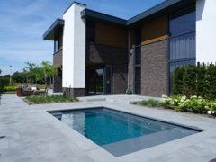 Het ideale zwembad voor kleine tuinen